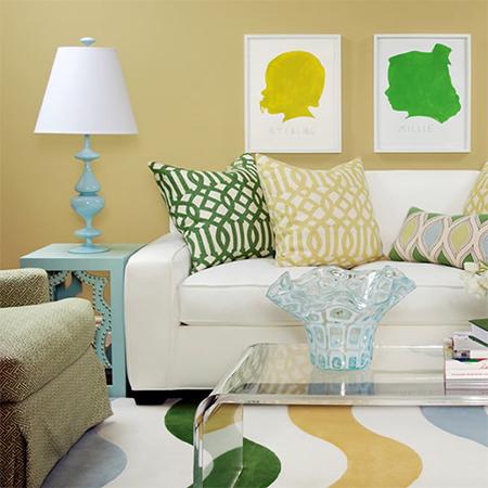 Home Dzine Home Decor Add Pops Of Bold Bright Colour