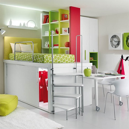 how to make small apartment flat townhouse house seem appear larger modular bedroom furniture