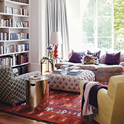 Create a cosy living room