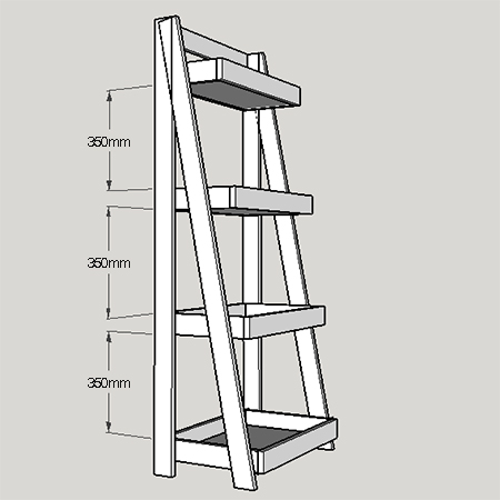 home dzine home diy tiered bathroom shelf unit. Black Bedroom Furniture Sets. Home Design Ideas