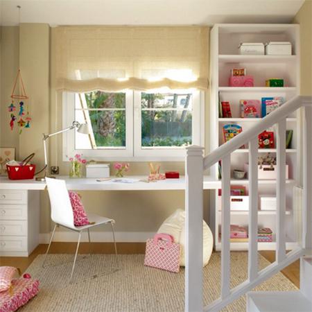 Home Dzine Bedrooms 20 Study Ideas For Children S Bedrooms