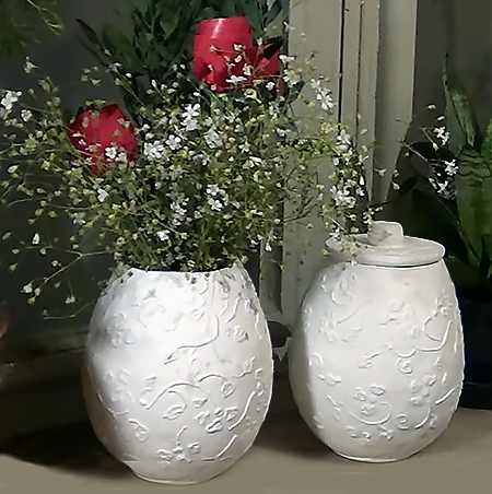 HOME DZINE Craft Ideas | Make these easy paper mache pots on flower box painting, flower bed painting, flower vases with flowers, modern palette knife painting, flower stand painting, frame painting, bottle flower painting, flower wreath painting, flower window painting, flower girl painting, candle painting, flower white painting, flower butterfly painting, flower oil paintings christmas, flower table painting, bird-and-flower painting, flower bowl painting, flower still life oil paintings, flower mirror painting, flower light painting,