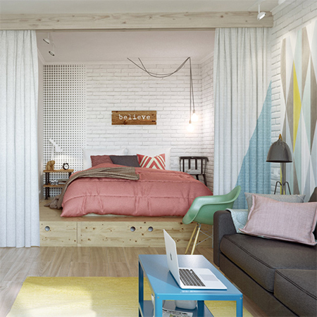 Home Dzine Home Decor Tips To Make A Small Space Larger