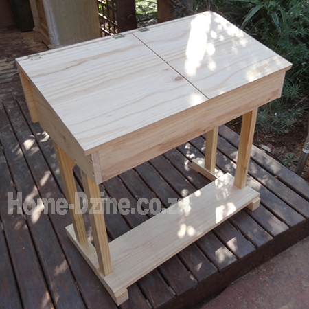 diy make school flip top desk for childrens furniture