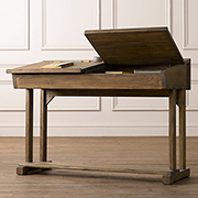 Flip-top school desk for child or adult