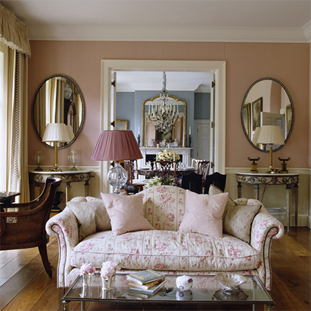 add romance to interior design living spaces