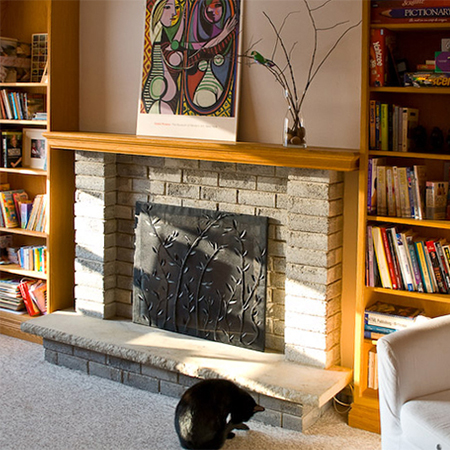 HOME DZINE Craft Ideas | Simple yet decorative fireplace ...