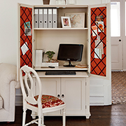 Make a Shaker style home office cabinet