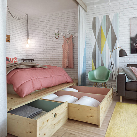 Tips to make a small space larger