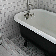 Restore a claw foot bathtub