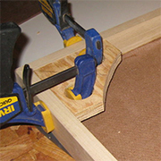 Make your own easy way to clamp corners