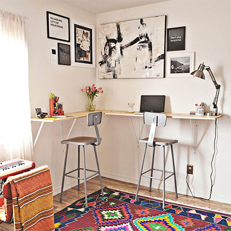 Easy DIY ideas for a home office