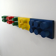 Make a Lego coat hanger