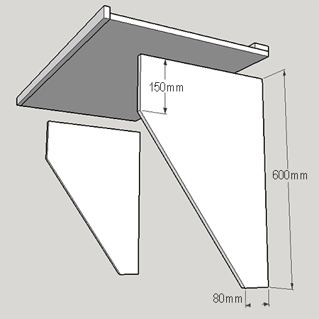 Home Dzine Home Diy Diy Fold Up Drop Down Table