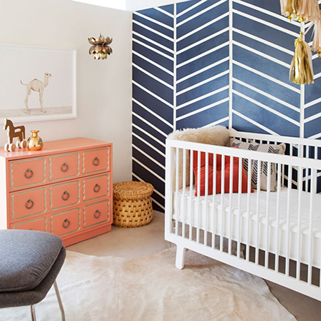 how to make a modern cot or crib