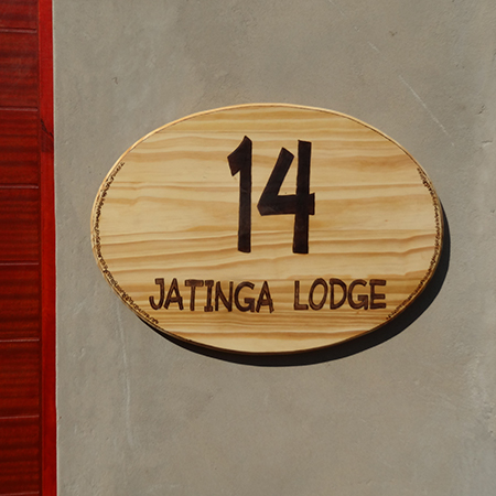 how to make custom house number plaque board