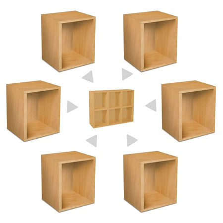 wooden cubes furniture. How To Make Modular Furniture Wooden Cubes E