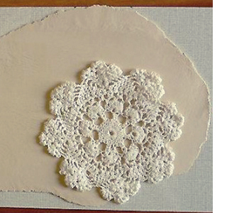Decorative plate using air-dry clay