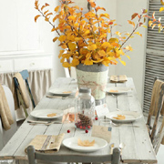 Ideas for a casual dining table