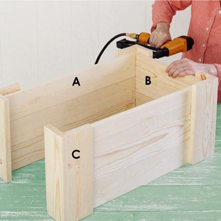 Make easy DIY storage boxes