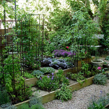 HOME DZINE Garden Make a simple raised garden bed