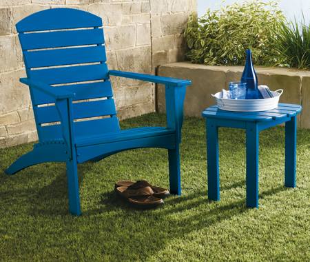 rustoleum spray paint adirondack chair and table