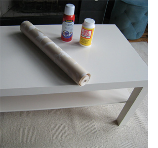 Give a coffee table a makeover