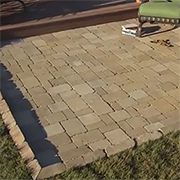 Add a paved patio area
