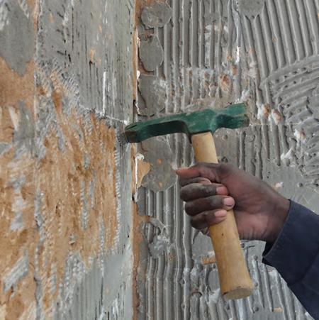 Home Dzine Kitchen Diy How To Tile Walls