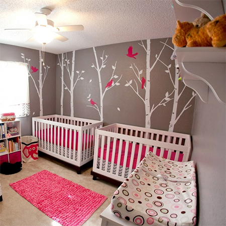Decorate A Nursery For Twins