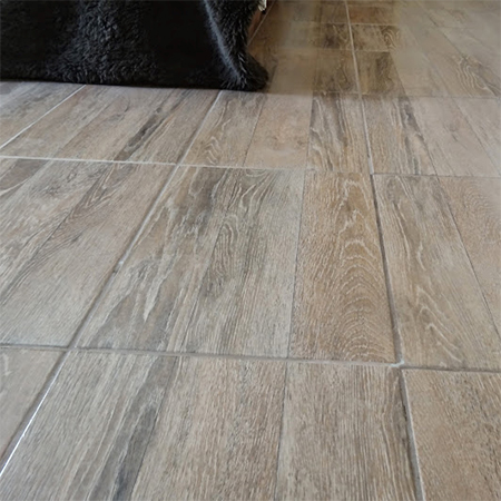 tile africa wood-look wood grain imprinted floor tiles