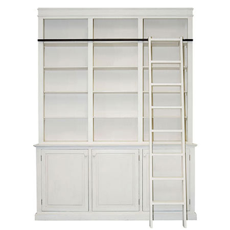 brand new 9c004 aefd5 HOME DZINE Home DIY | DIY library bookcase with ladder