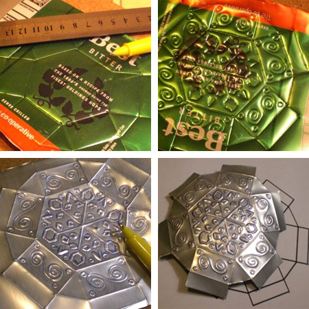 Home Dzine Craft Ideas Upcycle Aluminium Cans Into