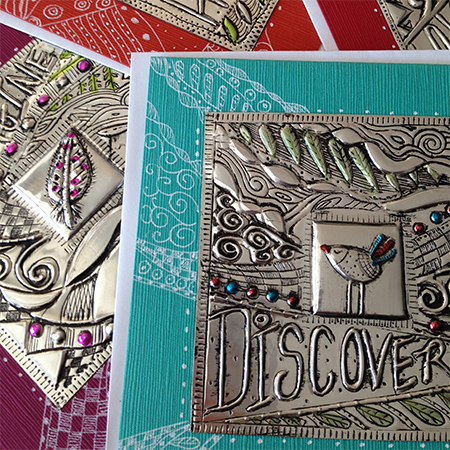 Home dzine craft ideas upcycle aluminium cans into for Metal sheets for crafting
