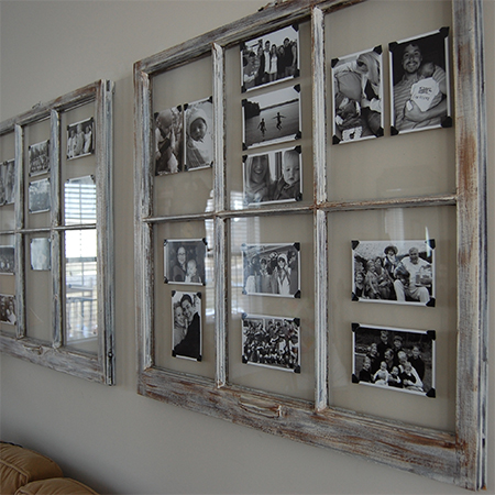 picture frame wall ideas home dzine craft ideas ideas for using reclaimed window 4185
