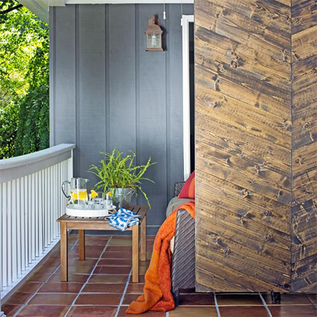 diy how to make privacy screen for patio or balcony