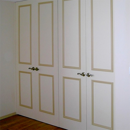 Home Dzine Bedrooms Revamp Built In Bedroom Cupboard Or Closet Doors