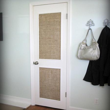 home dzine home decor diy way to dress up a plain door