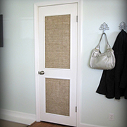 Dress up a plain interior door