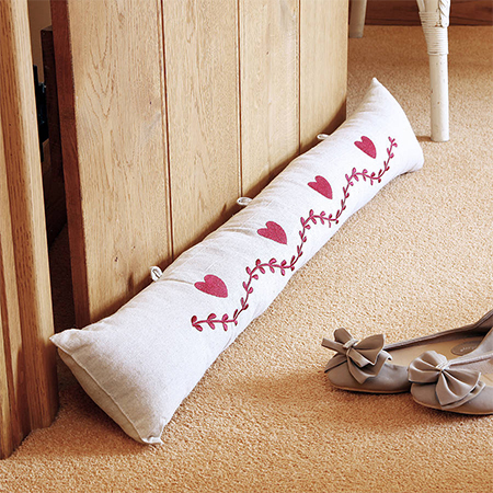 draught excluder sausage dog