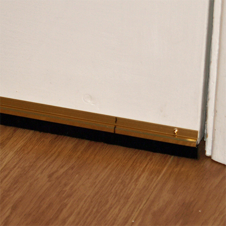 Fit Door Sweep Draught Excluder To Doors