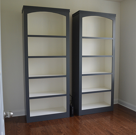 Make storage bookcases for home or office