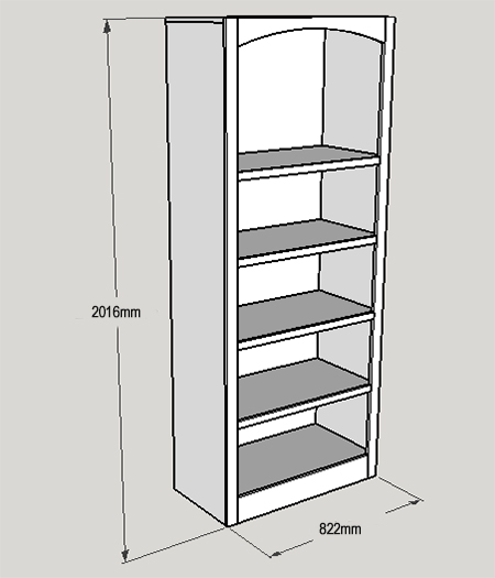 Bookcases for home office storage