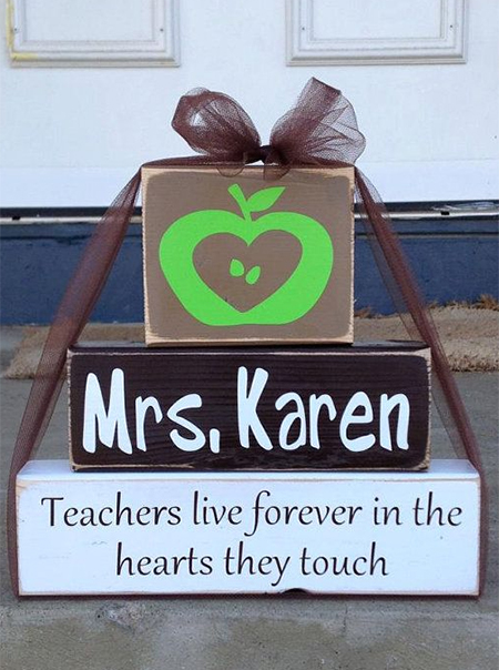Adorable, quick and easy teacher appreciation gift ideas