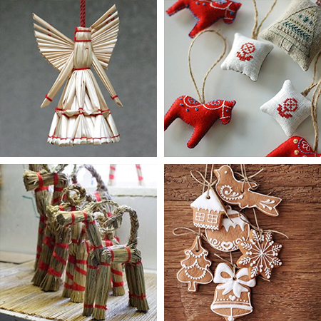 Christmas decor ideas on a budget scandinavian style natural