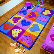 Designer rugs for kid's rooms