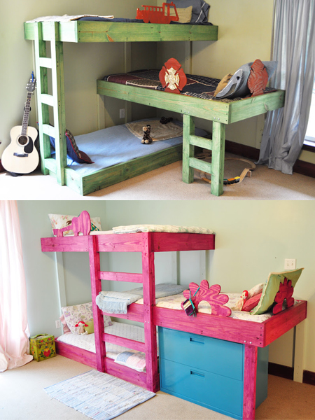 Home dzine bedrooms making room for beds in small spaces for Bedroom furniture design for small spaces