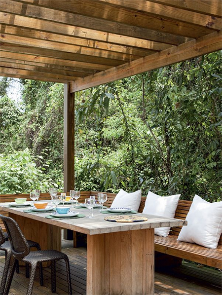 how to make your own diy outdoor dining table
