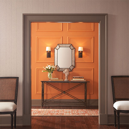 Home dzine use colour to add personality to home for Interior doors and trim color ideas