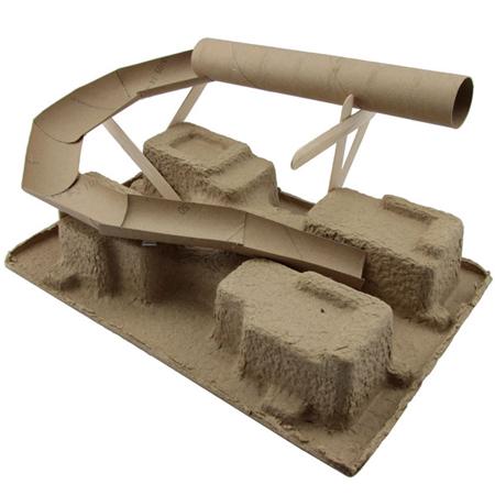 home dzine craft ideas kids project marble drop mine shaft. Black Bedroom Furniture Sets. Home Design Ideas